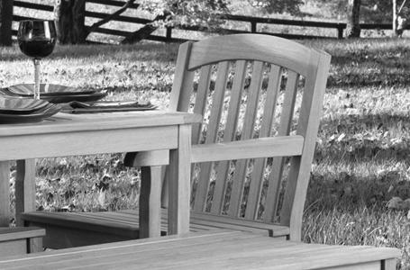 Modificeret træ til udendørsmøbler   lifestyle & designcluster