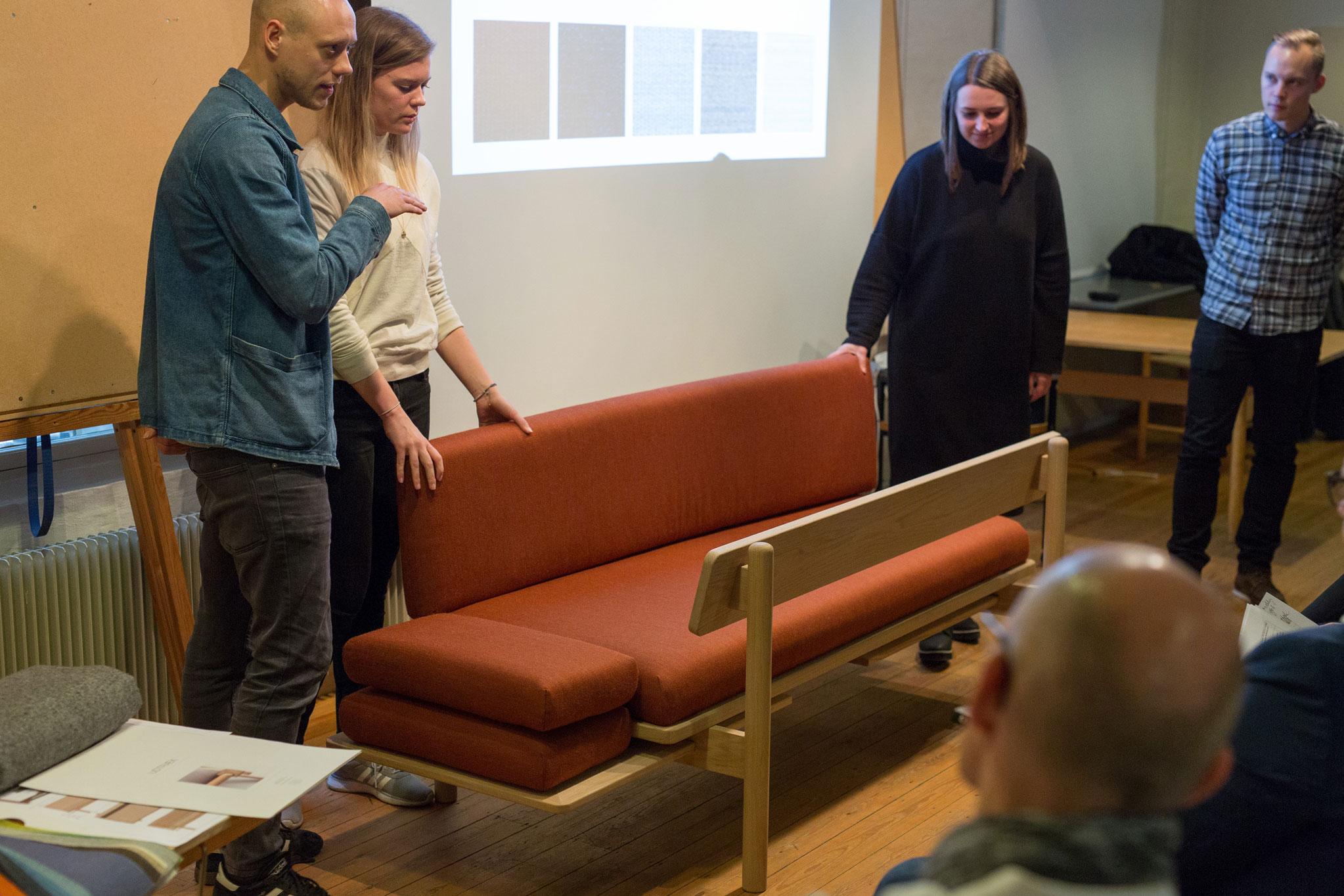 Designtalenter Vandt Med Storbysofa