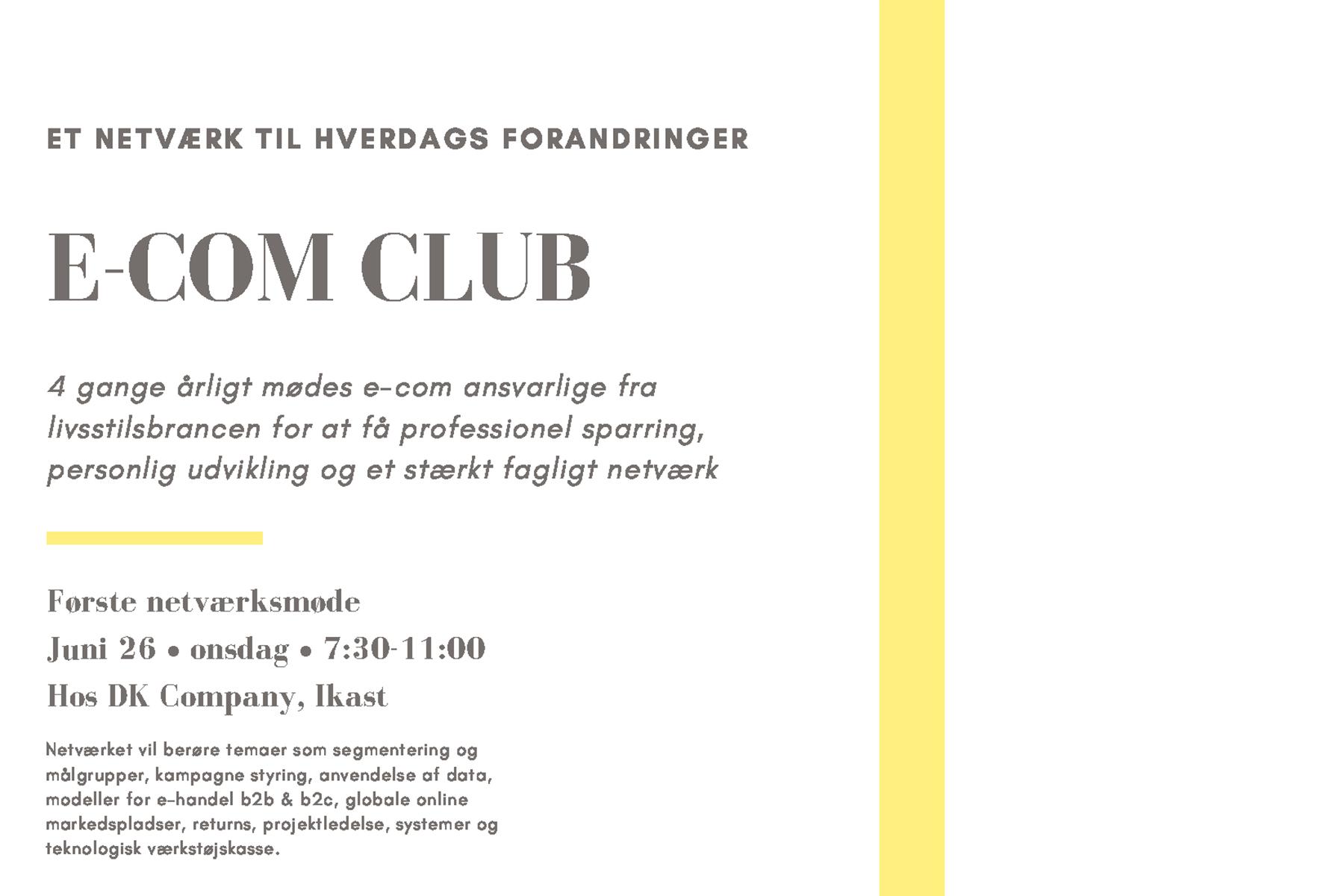 E Com Club