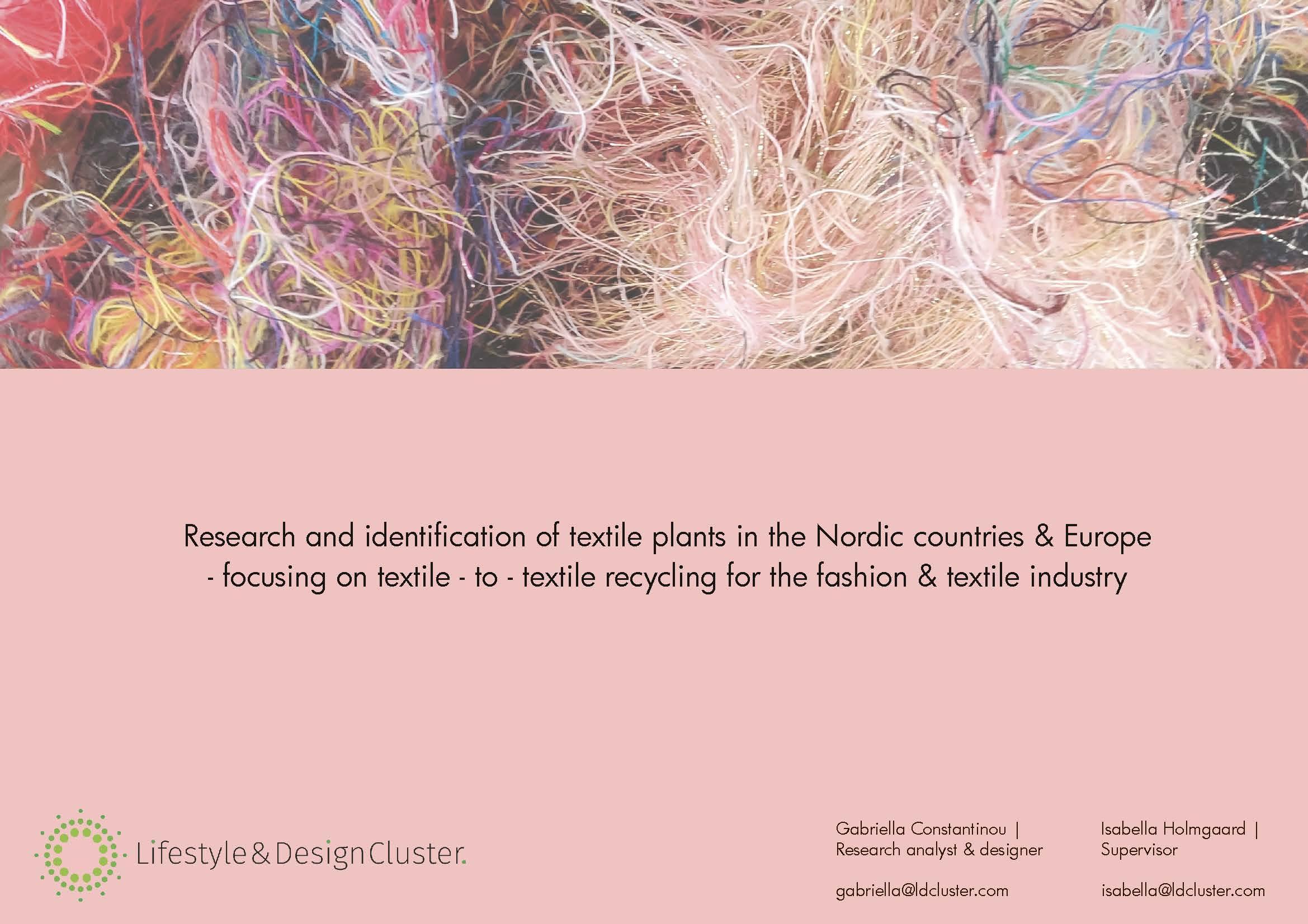 Ny Tekstilrapport – Få Den Nyeste Viden Indenfor Tekstilgenanvendelse