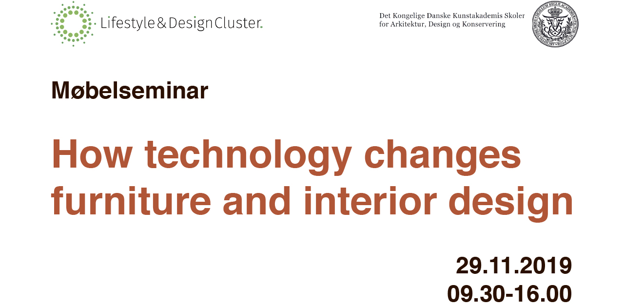 Møbelseminar 2019: How Technology Changes Furniture And interior design