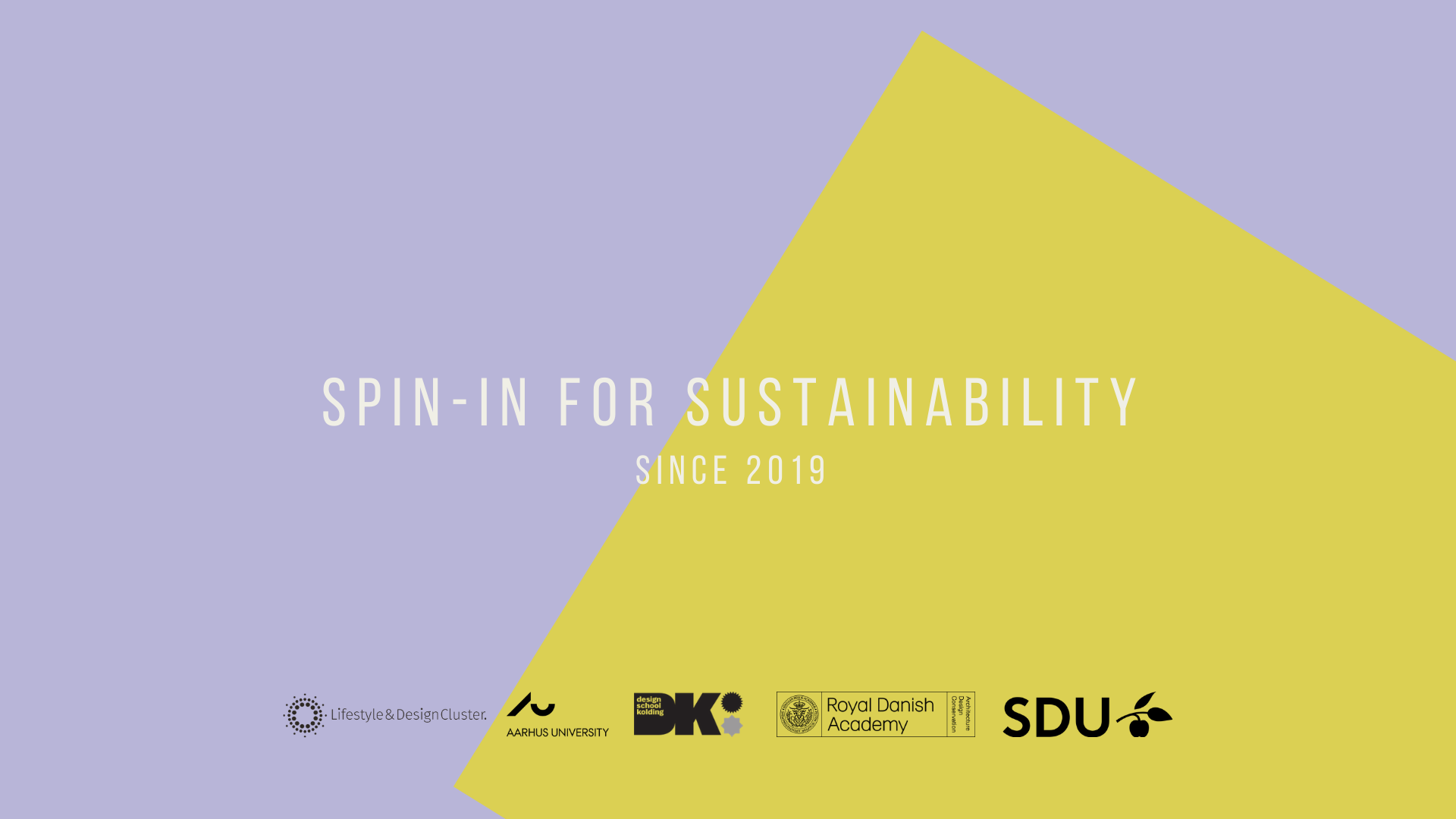 SPIN-IN For Sustainability