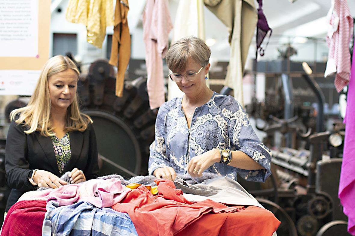 Lancering Af Tekstilsymbiose Herning